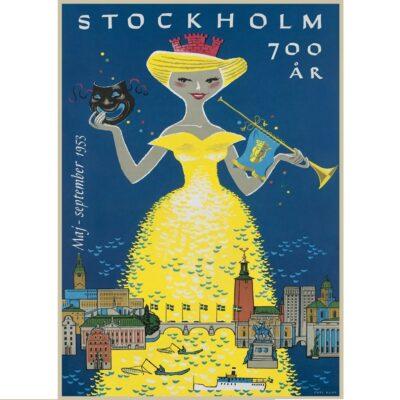 Poster Stockholm 700 år