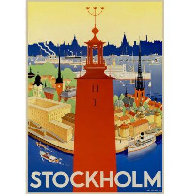 Poster Stockholm Stadshus