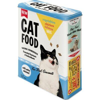 Plåtburk Cat Food 4L