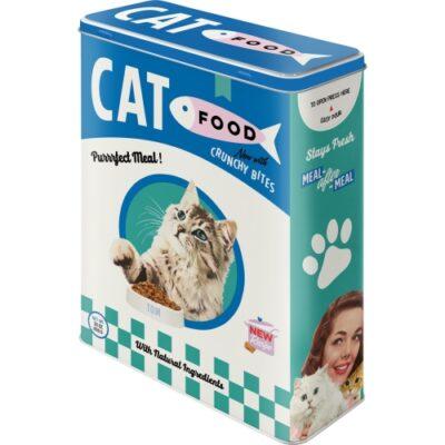 Plåtburk Cat Food Ny 4L