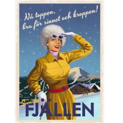 Poster Fjällen