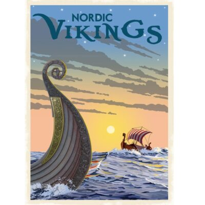 Poster Nordiska Vikingar