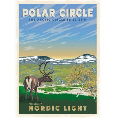 Poster Polar Circle