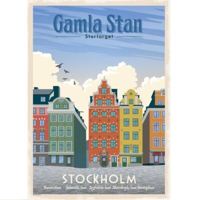 Poster Gamla Stan