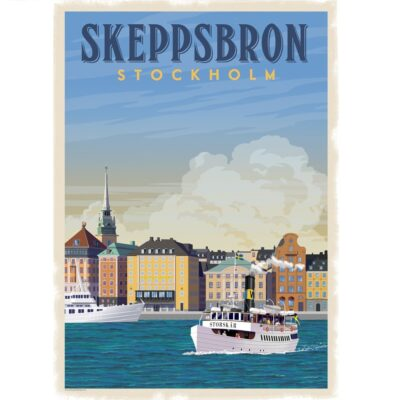 Poster Skeppsbron