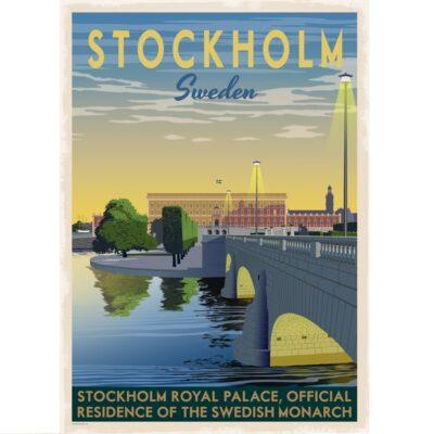 Poster Stockholm Slottet