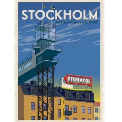 Poster Katarinahissen