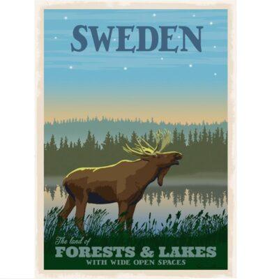 Poster Sweden