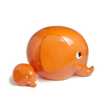 Norsu Sparelefant 11cm Orange