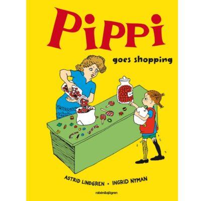 Bok – Pippi Goes Shopping