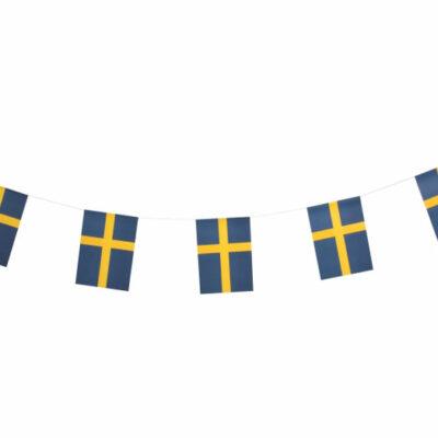 Girland Sverigeflagga