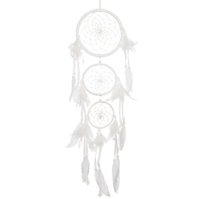 Drömfångare Trippel 16cm Vit