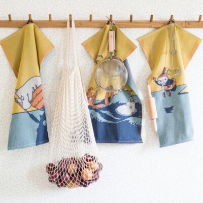 Mumin Handduk Mumin & Båt