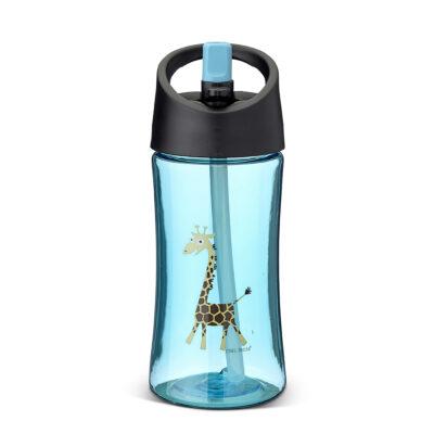 Vattenflaska 0,35 L, Turkos – Giraff