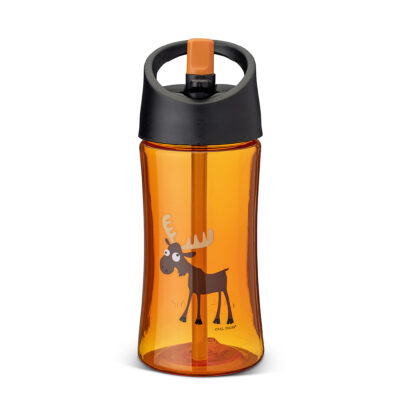 Vattenflaska 0,35 L, Orange – Älg