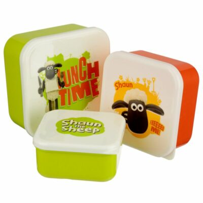 Set av 3 Lunch Lådor – Shaun The Sheep