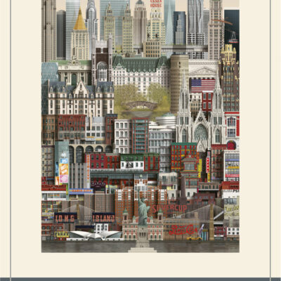 Pussel, New York – 1000 Bitar