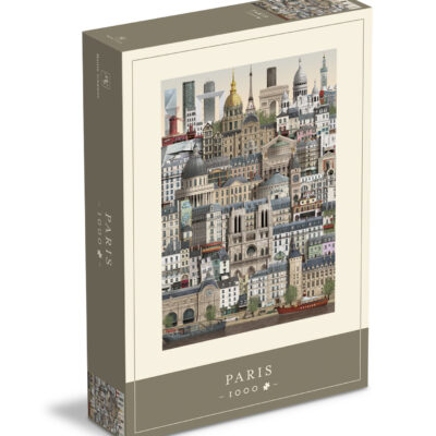 Pussel, Paris – 1000 Bitar