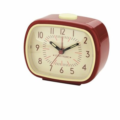 Retro Väckarklocka – Röd