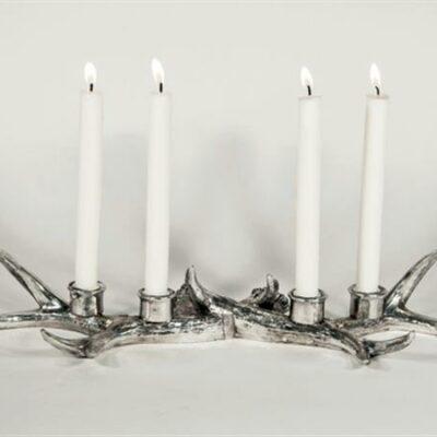 Hjortis Silver Adventsljusstake