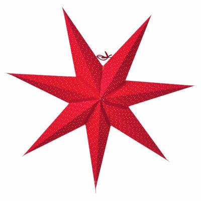 Aino Slim Julstjärna 60 Cm Röd