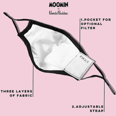 Ansiktsmask – Muminmamma