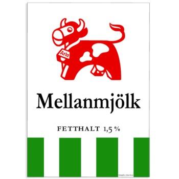Poster Mellanmjölk 50×70