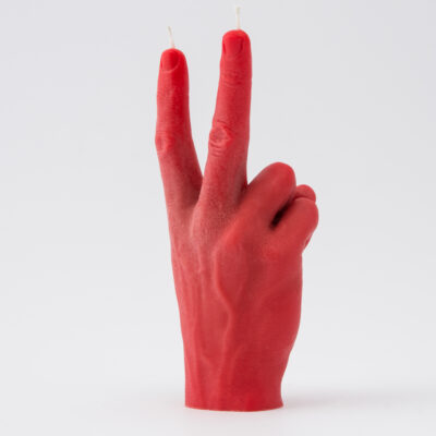 Candle Hand – VICTORY RÖD