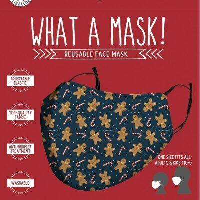 Ansiktsmask/Munskydd – Pepparkaksgubbar