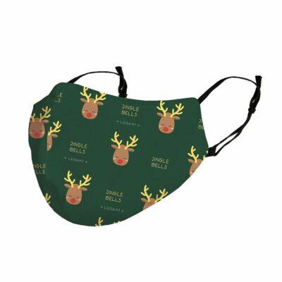 Ansiktsmask/Munskydd – Rudolph