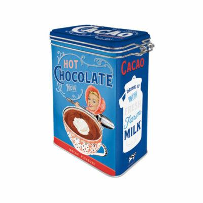 Plåtburk Clip Top Box Cacao Addicted 1,3L