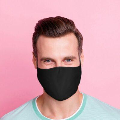 Ansiktsmask – Svart