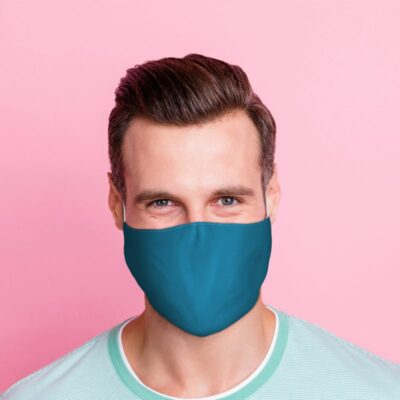 Ansiktsmask – Blå