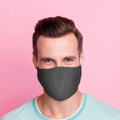 Ansiktsmask – Grå