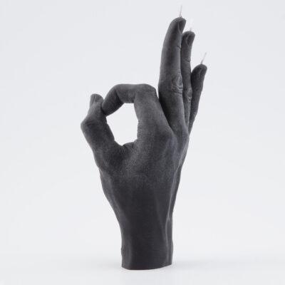 Candle Hand – OK Svart