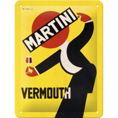 "Metallskylt ""Vermouth"" 15x20cm"