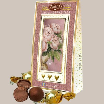 "Chokladpraliner – ""Rosa Pioner"""