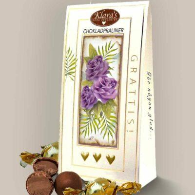 "Chokladpraliner – ""Grattis"""