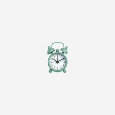 Mini-väckarklocka, Mini Tick Tock, Vintage Green