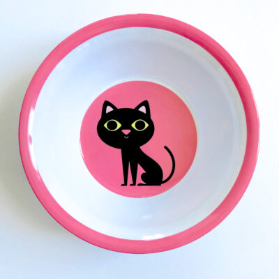Melaminskål – Katt