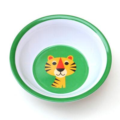 Melaminskålar – Tiger