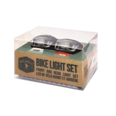 Cykellampor – Set Med 2 St Ledlampor