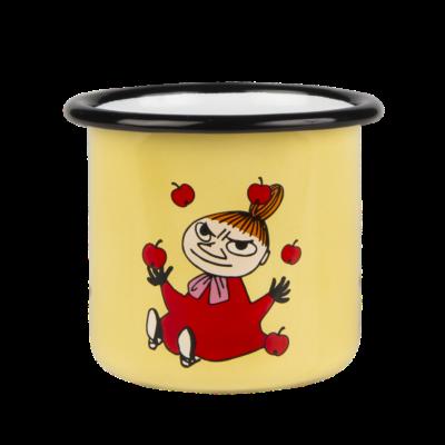 Mumin Emaljmugg 2,5 dl – Lilla My Gul