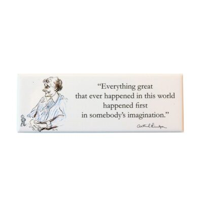 Magnet Citat Astrid Lindgren