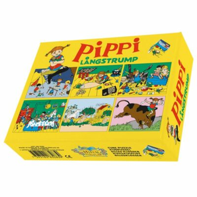 Pippi Långstrump Kubpussel