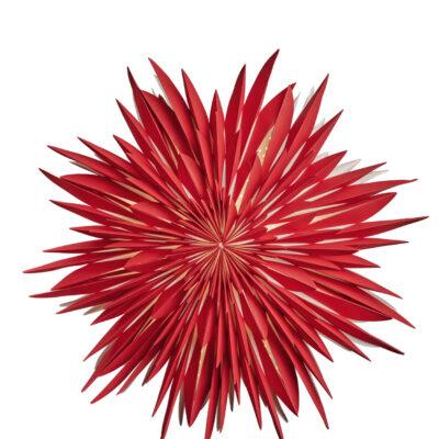 Maja Julstjärna – 60cm Röd